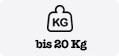 bis 20 kg