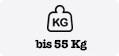 bis 55 kg