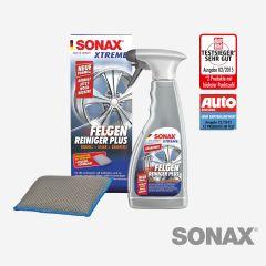 SONAX Xtreme FelgenReiniger Plus mit Felgenschwamm 500ml
