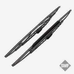 SWF Standard Scheibenwischer mit Spoiler 600mm & 400mm b1