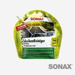 SONAX ScheibenReiniger Sommer Gebrauchsfertig Green Lemon 3L