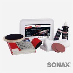 SONAX PROFILINE Scheinwerfer Aufbereitungspaket 22 teilig