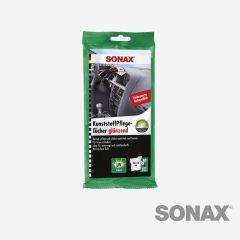 SONAX KunststoffPflegeTücher glänzend 10 Stk.
