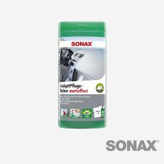 SONAX CockpitPflegeTücher matteffect Box 25 Stk.
