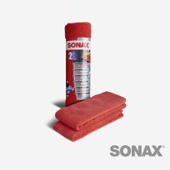 SONAX MicrofaserTücher Außen - der Lackpflegeprofi 2 Stk.