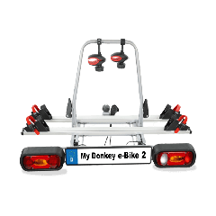 Gesamtansicht E-Bike Träger Kupplung