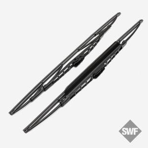 SWF Standard Scheibenwischer mit Spoiler 530mm & 475mm (Beifahrerseite gebogen) 116351