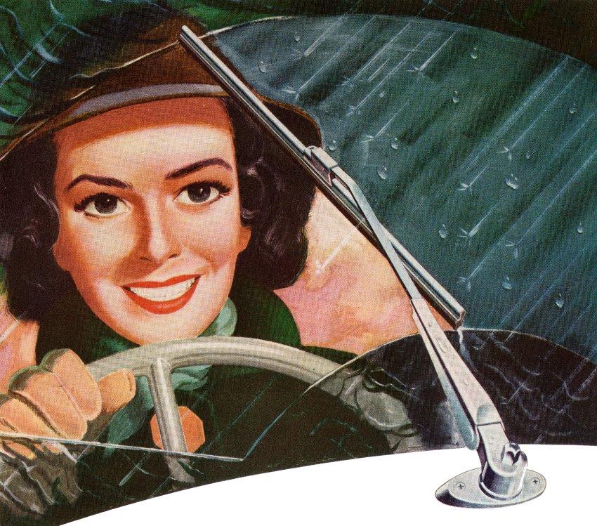 Mary Anderson - Erfinderin der Scheibenwischer