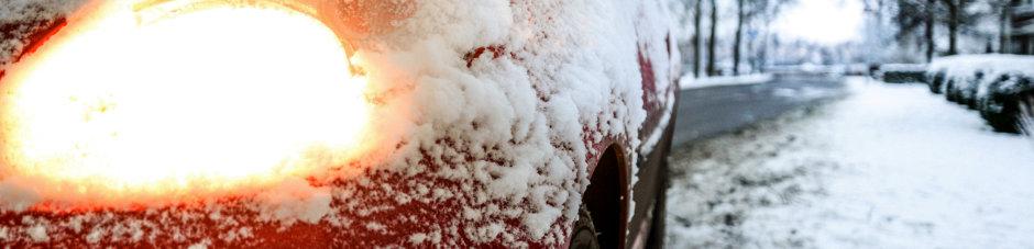 Licht beim Fahren ist im Winter besonders wichtig