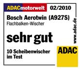 ADAC Scheibenwischer Test Bosch