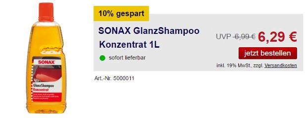 SONAX GlanzShampoo